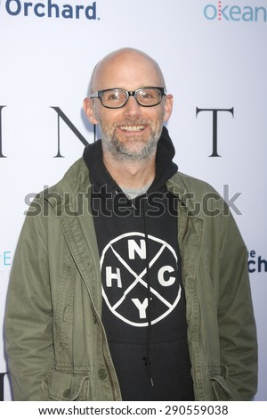 """LOS ANGELES - JUN 24:  Moby at the """"Unity"""" Documentary World Premeire at the Director's Guild of America on June 24, 2015 in Los Angeles, CA - stock photo"""