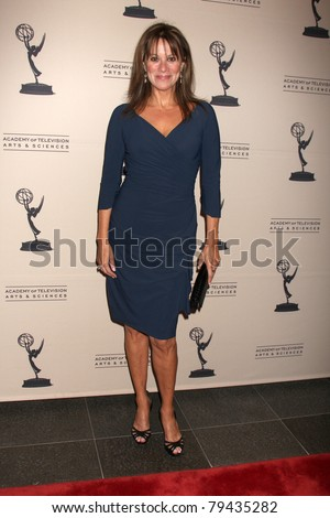 LOS ANGELES - JUN 16:  Nancy Lee Grahn arrives at the Academy of Television Arts and Sciences Daytime Emmy Nominee Reception at SLS Hotel at Beverly Hills on June 16, 2011 in Beverly Hills, CA - stock photo
