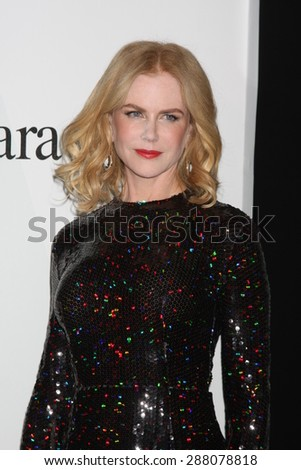 LOS ANGELES - JUN 16:  Nicole Kidman at the Women In Film 2015 Crystal + Lucy Awards at the Century Plaza Hotel on June 16, 2015 in Century City, CA - stock photo