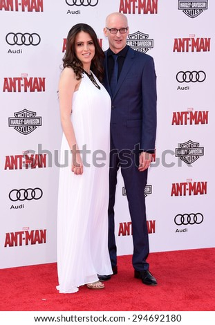 "LOS ANGELES - JUN 29:  Peyton Reed arrives to the ""Ant-Man"" World Premiere  on June 29, 2015 in Hollywood, CA                 - stock photo"