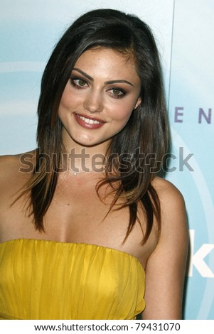 LOS ANGELES - JUN 16:  Phoebe Tonkin arriving at the 2011 Women In Film Crystal + Lucy Awards  at Beverly Hilton Hotel  on June 16, 2011 in Beverly Hills, CA - stock photo