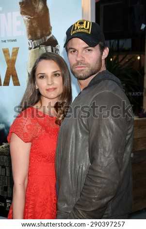 "LOS ANGELES - JUN 23:  Rachael Leigh Cook, Daniel Gillies at the ""Max""  Premiere  at the Egyptian Theater on June 23, 2015 in Los Angeles, CA"