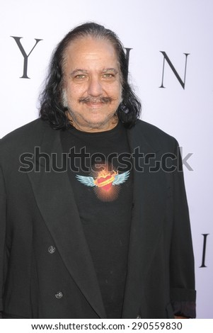 "LOS ANGELES - JUN 24:  Ron Jeremy at the ""Unity"" Documentary World Premeire at the Director's Guild of America on June 24, 2015 in Los Angeles, CA - stock photo"