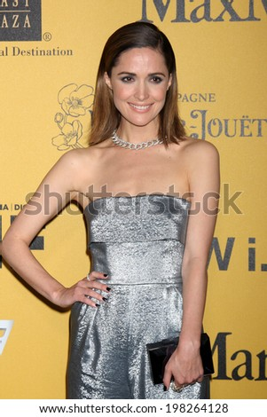 LOS ANGELES - JUN 11:  Rose Byrne at the Women In Film 2014 Crystal + Lucy Awards at Century Plaza Hotel on June 11, 2014 in Beverly Hills, CA