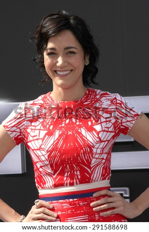 "LOS ANGELES - JUN 28:  Sandrine Holt at the ""Terminator Genisys"" Los Angeles Premiere at the Dolby Theater on June 28, 2015 in Los Angeles, CA - stock photo"