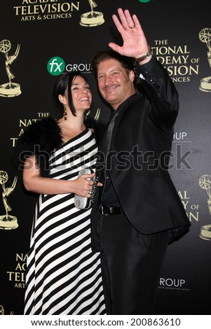 LOS ANGELES - JUN 22:  Sean Kanan at the 2014 Daytime Emmy Awards Arrivals at the Beverly Hilton Hotel on June 22, 2014 in Beverly Hills, CA - stock photo
