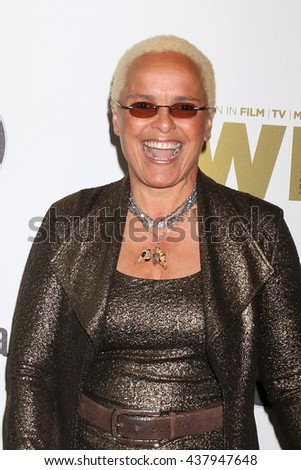 LOS ANGELES - JUN 15:  Shari Belafonte at the Women In Film 2016 Crystal and Lucy Awards at the Beverly Hilton Hotel on June 15, 2016 in Beverly Hills, CA - stock photo