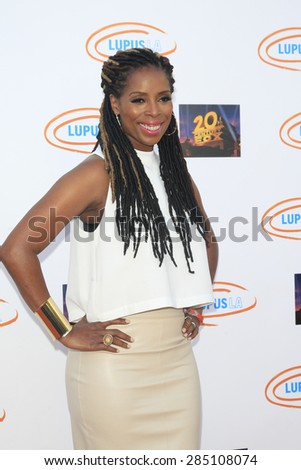 LOS ANGELES - JUN 6: Tasha Smith at the Lupus LA Orange Ball And A Night Of Superheroes at the Fox Studio lot on June 6, 2015 in Los Angeles, California - stock photo