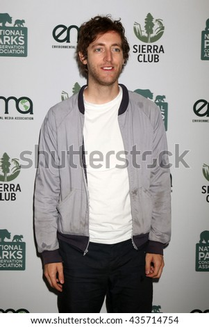 LOS ANGELES - JUN 11:  Thomas Middleditch at the Give Back Day to Celebrate National Park Service Centennial at the Franklin Canyon Park on June 11, 2016 in Beverly Hills, CA - stock photo