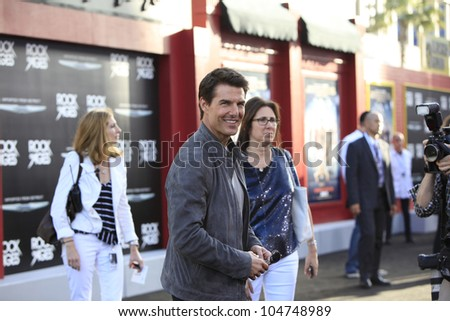 LOS ANGELES - JUN 8: Tom Cruise at the 'Rock of Ages' Los Angeles premiere held at Grauman's Chinese Theater on June 8, 2012 in Los Angeles, California
