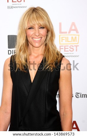 "LOS ANGELES - JUN 23:  Toni Collette arrives at  ""The Way Way Back"" Premiere as part of the Los Angeles Film Festival at the Regal Cinemas on June 23, 2013 in Los Angeles, CA"
