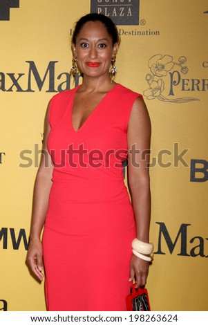 LOS ANGELES - JUN 11:  Tracee Ellis Ross at the Women In Film 2014 Crystal + Lucy Awards at Century Plaza Hotel on June 11, 2014 in Beverly Hills, CA - stock photo