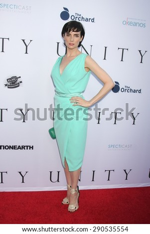 "LOS ANGELES - JUN 24:  Victoria Summer at the ""Unity"" Documentary World Premeire at the Director's Guild of America on June 24, 2015 in Los Angeles, CA - stock photo"