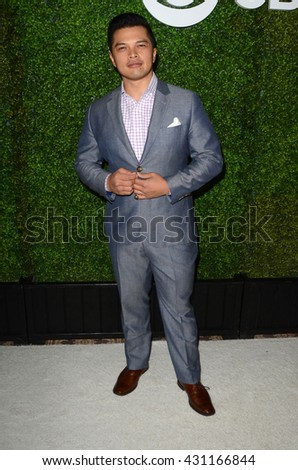 LOS ANGELES - JUN 2:  Vincent Rodriguez III at the 4th Annual CBS Television Studios Summer Soiree at the Palihouse on June 2, 2016 in West Hollywood, CA