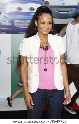 LOS ANGELES - JUNE 18: Christina Milian at the Premiere of Walt Disney Pictures' 'Cars 2' at the El Capitan Theatre, California on June 18, 2011.