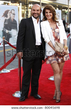 LOS ANGELES - JUNE 27: Ian Gomez; Nia Vardalos arrives at the Premiere of Universal Pictures' 'Larry Crowne' at Grauman's Chinese Theatre on June 27, 2011 in Los Angeles, California