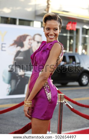 LOS ANGELES - JUNE 27: Selita Ebanks arrives at the Premiere of Universal Pictures' 'Larry Crowne' at Grauman's Chinese Theatre on June 27, 2011 in Los Angeles, California
