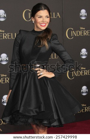 "LOS ANGELES - MAR 1:  Ali Landry at the ""Cinderella"" World Premiere at the El Capitan Theater on March 1, 2015 in Los Angeles, CA - stock photo"