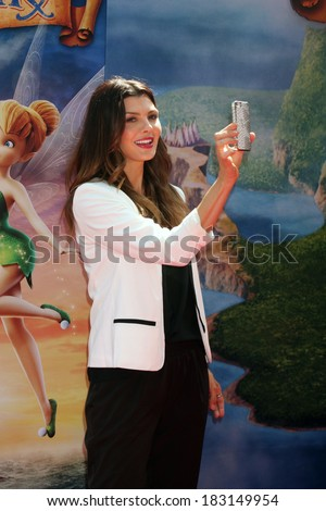 LOS ANGELES - MAR 22:  Ali Landry at the Pirate Fairy Movie Premiere at Walt Disney Studios Lot on March 22, 2014 in Burbank, CA - stock photo