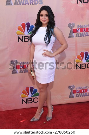LOS ANGELES - MAR 29:  Ariel Winter arrives to the 2015 iHeartRadio Music Awards  on March 29, 2015 in Hollywood, CA                 - stock photo