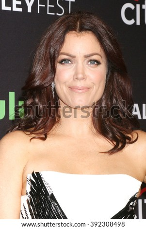 LOS ANGELES - MAR 15:  Bellamy Young at the PaleyFest Los Angeles - Scandal at the Dolby Theater on March 15, 2016 in Los Angeles, CA - stock photo