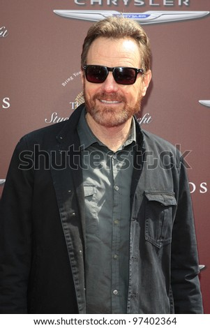 LOS ANGELES - MAR 11:  Bryan Cranston arrives at the 9th Annual John Varvatos Stuart House Benefit at the John Varvatos Store on March 11, 2012 in West Hollywood, CA