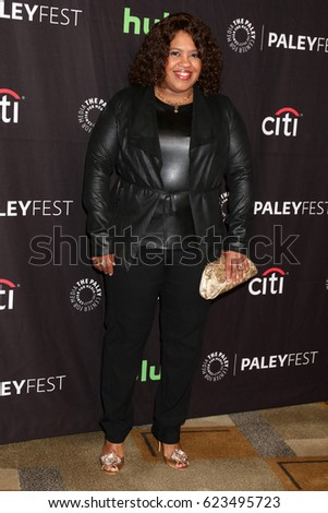 "LOS ANGELES - MAR 19:  Chandra Wilson at the 34th Annual PaleyFest Los Angeles - ""Grey's Anatomy"" at Dolby Theater on March 19, 2017 in Los Angeles, CA"