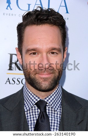 LOS ANGELES - MAR 18:  Chris Diamantopoulos at the Norma Jean Gala at the Taglyan Complex on March 18, 2015 in Los Angeles, CA - stock photo