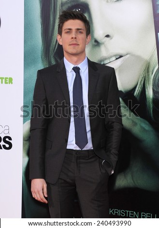 "LOS ANGELES - MAR 12:  Chris Lowell arrives to the """"Veronica Mars"" Los Angeles Premiere  on March 12, 2014 in Hollywood, CA                 - stock photo"