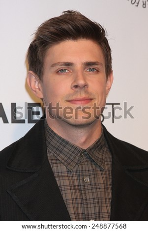 LOS ANGELES - MAR 13:  Chris Lowell at the PaleyFEST Vernoica Mars Event at Dolby Theataer on March 13, 2014 in Los Angeles, CA