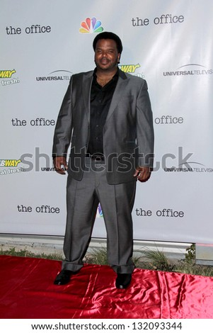 "LOS ANGELES - MAR 16:  Craig Robinson arrives at ""The Office"" Series Finale Wrap Party at the Unici Casa on March 16, 2013 in Culver City, CA - stock photo"