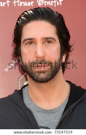 LOS ANGELES - MAR 13:  David Schwimmer arriving at the John Varvatos 8th Annual Stuart House Benefit at John Varvaots Store on March 13, 2011 in Los Angeles, CA