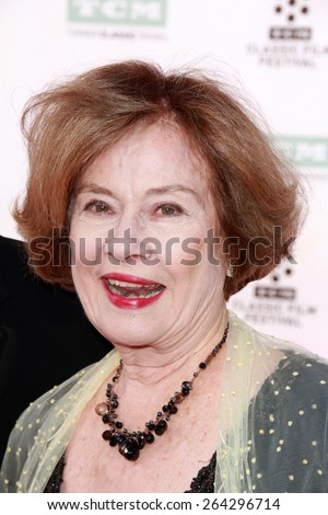 "LOS ANGELES - MAR 26:  Diane Baker at the 50th Anniversary Screening Of ""The Sound Of Music"" at the TCL Chinese Theater on March 26, 2015 in Los Angeles, CA"