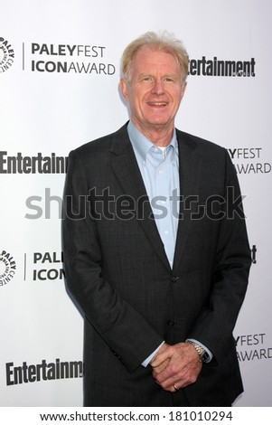 LOS ANGELES - MAR 10:  Ed Begley Jr at the PALEYFEST Icon Award IHO Judd Apatow at Paley Center For Media on March 10, 2014 in Beverly Hills, CA - stock photo