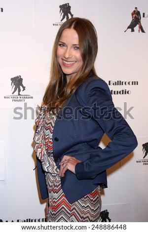 LOS ANGELES - MAR 31:  Edyta Sliwinska at the LA Ballroom Studio Grand Opening at LA Dance Studio on March 31, 2014 in Sherman Oaks, CA - stock photo
