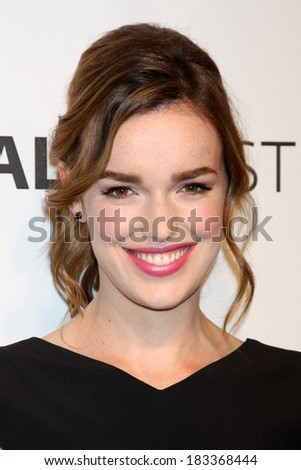 "LOS ANGELES - MAR 23:  Elizabeth Henstridge at the PaleyFEST 2014 - ""Marvel's Agents of S.H.I.E.L.D."" at Dolby Theater on March 23, 2014 in Los Angeles, CA"
