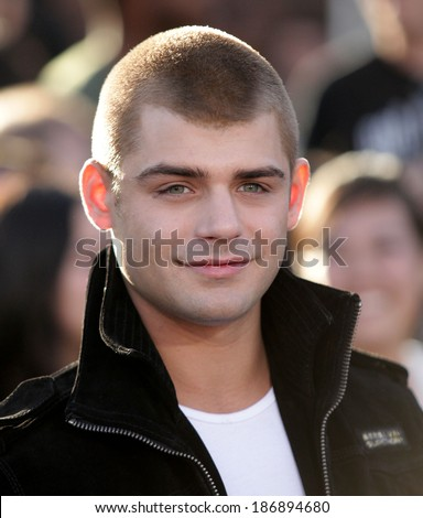 LOS ANGELES - MAR 18:  Garrett Clayton arrives to the 'Divergent' Los Angeles Premiere  on March 18, 2014 in Westwood, CA