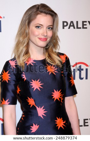 """LOS ANGELES - MAR 26:  Gillian Jacobs at the PaleyFEST 2014 - """"Community"""" at Dolby Theater on March 26, 2014 in Los Angeles, CA - stock photo"""