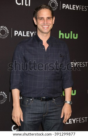 LOS ANGELES - MAR 13:  Greg Berlanti at the PaleyFest Los Angeles - Supergirl at the Dolby Theater on March 13, 2016 in Los Angeles, CA