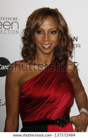 LOS ANGELES - MAR 4: Holly Robinson Peete at the 3rd annual Essence Black Women in Hollywood Luncheon at the Beverly Hills Hotel in Beverly Hills, California on March 4, 2010 - stock photo