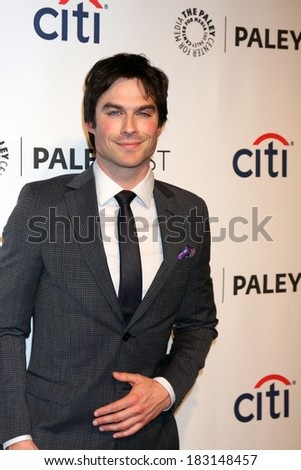 "LOS ANGELES - MAR 22:  Ian Somerhalder at the PaleyFEST 2014 - ""The Vampire Diaries"" at Dolby Theater on March 22, 2014 in Los Angeles, CA"