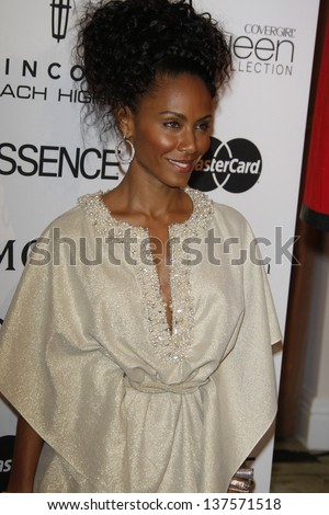 LOS ANGELES - MAR 4: Jada Pinkett Smith at the 3rd annual Essence Black Women in Hollywood Luncheon at the Beverly Hills Hotel in Beverly Hills, California on March 4, 2010 - stock photo