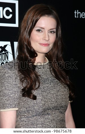"""LOS ANGELES - MAR 26:  Jamie Anne Allman arrives at  the AMC's """"The Killing"""" Season 2 Premiere at the ArcLight Theaters on March 26, 2012 in Los Angeles, CA - stock photo"""