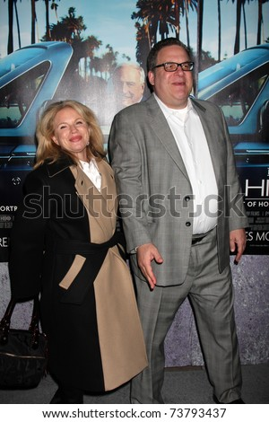 "LOS ANGELES - MAR 22:  Jeff Garlin arrives at the HBO's ""His Way"" Los Angeles Premiere at Paramount Theater on March 22, 2011 in Los Angeles, CA"
