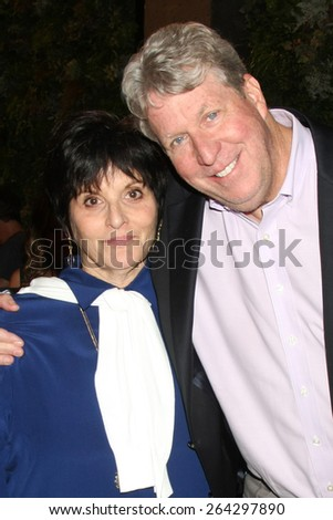 LOS ANGELES - MAR 26:  Jill Farren Phelps, Charles Pratt Jr. at the Young & Restless 42nd Anniversary Celebration at the CBS Television City on March 26, 2015 in Los Angeles, CA - stock photo