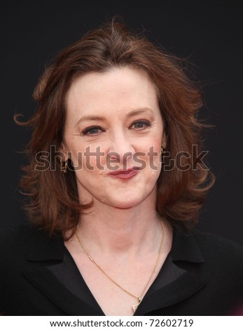 "LOS ANGELES - MAR 06:  Joan Cusack arrives at the ""Mars Needs Moms"" World Premiere  on March 06, 2011 in Hollywood, CA"