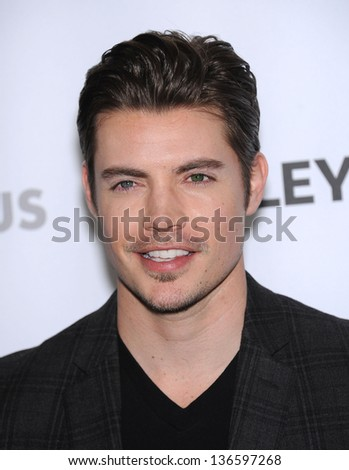 "LOS ANGELES - MAR 10:  Josh Henderson arrives to the Paley Fest 2013 - ""Dallas""  on April 18, 2013 in Los Angeles, CA."