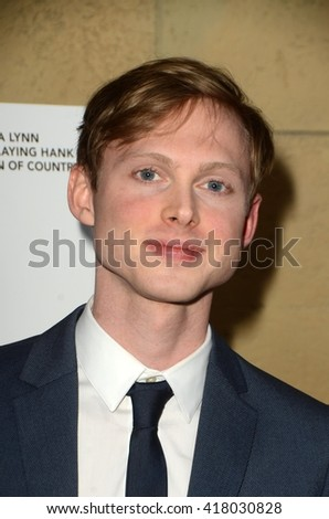 LOS ANGELES - MAR 22:  Joshua Brady at the I Saw the Light LA Premiere at the Egyptian Theatre on March 22, 2016 in Los Angeles, CA - stock photo