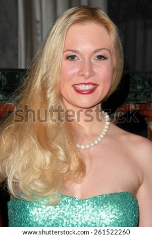 LOS ANGELES - MAR 17:  Julia Alexander at the 2015 Impact Awards Dinner at the Beverly Wilshire Hotel on March 17, 2015 in Beverly Hills, CA - stock photo