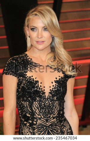 LOS ANGELES - MAR 2:  Kate Hudson at the 2014 Vanity Fair Oscar Party at the Sunset Boulevard on March 2, 2014 in West Hollywood, CA - stock photo